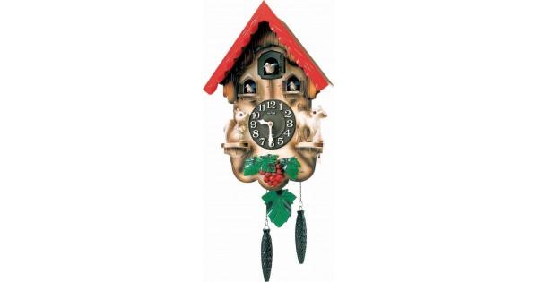 Rhythm Cuckoo Clock Auto Night Shut Off By Sensor Hourly